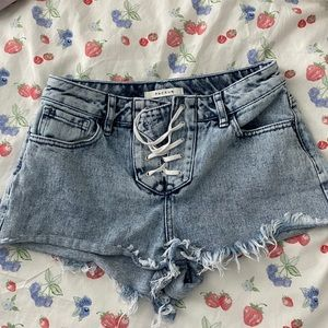 Pacsun Festival Lace Shorts